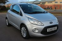 USED 2010 60 FORD KA 1.2 ZETEC 3d 69 BHP *PX CLEARANCE - NOT INSPECTED - NO WARRANTY - NOT AVAILABLE ON FINANCE - NO PX TAKEN*
