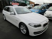 USED 2014 64 BMW 5 SERIES 2.0 520D SE TOURING 5d AUTO 188 BHP ** 01543 379066 ** JUST ARRIVED ** FULL SERVICE HISTORY **DIESEL