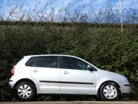 USED 2002 02 VOLKSWAGEN POLO 1.4 SE 5d AUTO 74 BHP ONLY 75K FROM NEW A/C VGC