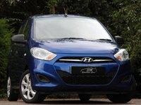 USED 2011 61 HYUNDAI I10 1.2 CLASSIC 5d 85 BHP IDEAL FIRST CAR A/C VGC