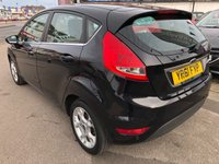 USED 2011 61 FORD FIESTA 1.4 ZETEC 16V 5d AUTO 96 BHP *** PAYMENTS LOW AS £103 A MONTH! *** 12 MONTHS WARRANTY ***
