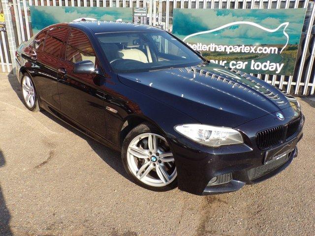 2011 61 BMW 5 SERIES 3.0 530D M SPORT 4d AUTO 255 BHP SAT NAV FULL SERVICE HISTORY