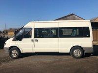 USED 2004 04 FORD TRANSIT T350 2.4TDDI 90 BHP LWB SEMI HI TOP MINIBUS MARCH 2020 MOT+ NO VAT+ 8 SEATER