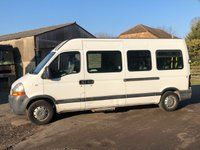 USED 2004 04 RENAULT MASTER 2.5 LM35 DCI 100BHP LWB DISABLED PASSENGER MINI BUS ELECTRIC TAILIFT+ NO VAT TO PAY+