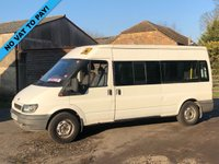 USED 2004 53 FORD TRANSIT T350 2.4TDDI 90 BHP LWB DISABLED PASSENGER MINI BUS RICON TAILIFT+ NO VAT+