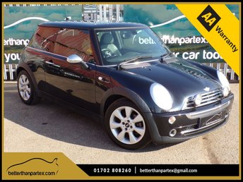 2005 MINI HATCH COOPER 1.6 COOPER 3d AUTOMATIC 114 BHP 1 OWNER ONLY 67,000 MILES £SOLD