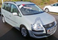 USED 2009 09 VOLKSWAGEN TOURAN S 1.9 TDI BLUEMOTION 7 SEATER 5d 11033 BHP Low Miles - 7 Service Stamps - Cruise Control - 7 Seats!!