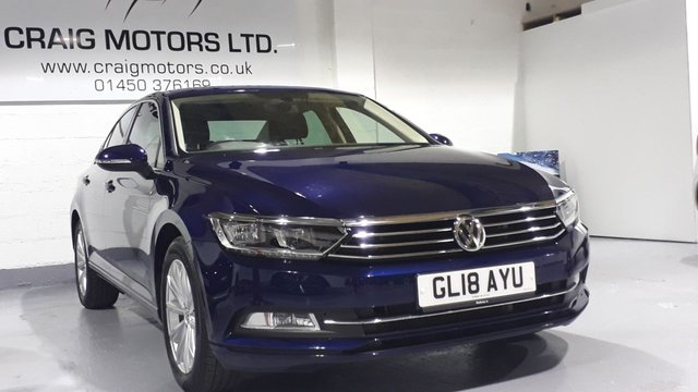 2018 18 VOLKSWAGEN PASSAT 2.0 SE BUSINESS TDI BLUEMOTION TECH DSG 4d AUTO 148 BHP