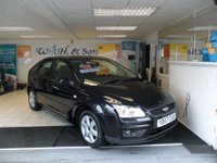 USED 2007 57 FORD FOCUS 1.6 SPORT 5d 100 BHP