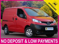 USED 2015 15 NISSAN NV200 1.5 DCI ACENTA PANEL VAN WITH REVERSE CAMERA TWIN SLIDING DOORS REVERSE CAMERA BLUETOOTH AUX/USB
