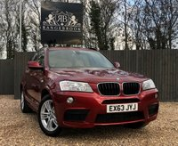 2013 BMW X3 2.0 XDRIVE20D M SPORT 5dr AUTO  £14699.00