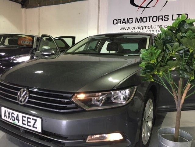 2015 64 VOLKSWAGEN PASSAT 2.0 SE BUSINESS TDI BLUEMOTION TECHNOLOGY 4d 148 BHP