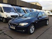 USED 2012 12 BMW 5 SERIES 2.0 520D SE 4d AUTO 181BHP. SATNAV. CAMERA. XENONS. FSH. SATNAV. REVERSE CAMERA. XENONS. LEATHER. AUTO. FINANCE. PX