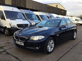 2012 BMW 5 SERIES 2.0 520D SE 4d AUTO 181BHP. SATNAV. CAMERA. XENONS. FSH. £8990.00
