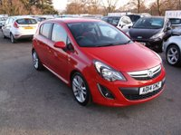 USED 2014 14 VAUXHALL CORSA 1.4 SRI 5d 98 BHP **Very Nice Example -  Full History - Low  miles**
