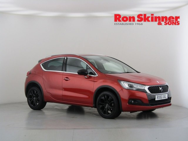 View our 2016 16 DS DS 4 1.6 BLUEHDI CROSSBACK S/S 5d 120 BHP