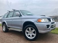 USED 2006 55 MITSUBISHI SHOGUN SPORT 2.5 WARRIOR TD GLX 5d 114 BHP ** UNWANTED PART EXCHANGE ****SOLD AS SEEN**