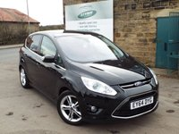 USED 2014 64 FORD C-MAX 1.6 TITANIUM X TDCI 5d 114 BHP Full Ford Service History Only £30 Road Tax