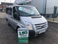 2012 FORD TRANSIT 2.2 280 TREND TOURNEO 125BHP 9 SEATS MINI BUS NO VAT TO PAY  £9950.00