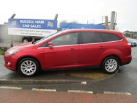 USED 2012 61 FORD FOCUS 2.0 TITANIUM TDCI 5d 139 BHP 2 Owner Car . 8 Stamps Of Service History. New MOT & Full Service Done on purchase + 2 Years FREE Mot & Service Included After . 3 Months Russell Ham Quality Warranty . All Car's Are HPI Clear . Finance Arranged - Credit Card's Accepted . for more cars www.russellham.co.uk  Spare Key & Owners Book Pack..