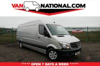 USED 2016 16 MERCEDES-BENZ SPRINTER 2.1 313 CDI LWB 129 BHP * SILVER * ALLOYS * Long Wheel Base * ** READY TO LOAD UP AND  DRIVE AWAY TODAY ** NO ADMIN FEES **