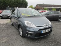 USED 2012 61 CITROEN C4 GRAND PICASSO 1.6 VTR PLUS HDI 5d 110 BHP 7 SEVEN SEATER