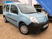 USED 2010 60 RENAULT KANGOO 1.6 EXTREME AUTOMATIC WHEELCHAIR ACCESS Low Mileage Automatic Wheelchair Accessible MPV