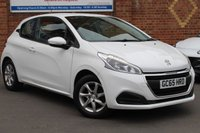 USED 2016 65 PEUGEOT 208 1.2 ACTIVE 3d 82 BHP £20.00 12m Tax