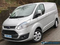 2016 FORD TRANSIT CUSTOM LIMITED L1 H1 270 SWB 2.2 125BHP £12995.00