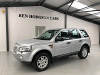 USED 2007 07 LAND ROVER FREELANDER 2.2 TD4 SE 5d AUTO 159 BHP Sat Nav! Pan Roof! Heated Seats!
