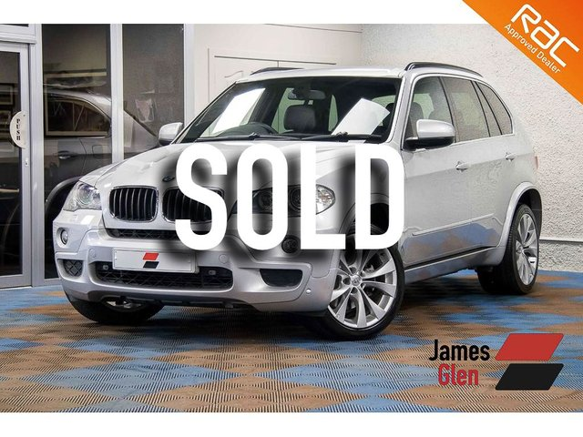 USED 2009 09 BMW X5 3.0 D M SPORT 5d AUTO 232 BHP Four Owners | 8-Stamp Service Record