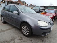 2005 VOLKSWAGEN GOLF 1.6 SE 5d AUTOMATIC PLEASE READ ADD £1395.00