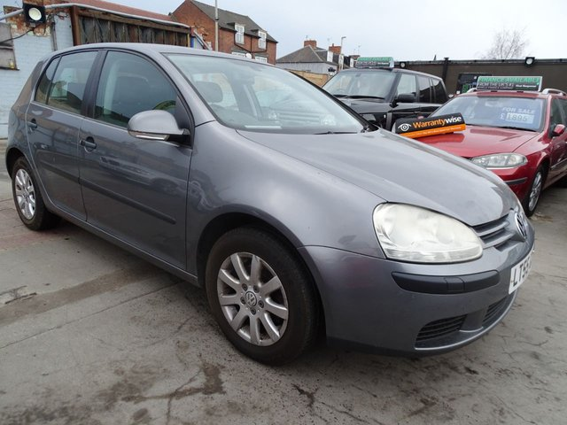 USED 2005 55 VOLKSWAGEN GOLF 1.6 SE 5d AUTOMATIC PLEASE READ ADD