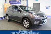 USED 2014 14 TOYOTA RAV4 2.2 D-4D INVINCIBLE 5d 150 BHP 1 Owner, Finance Available