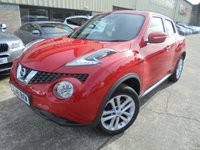 USED 2016 16 NISSAN JUKE 1.2 ACENTA DIG-T 5d 115 BHP Superb Order, No Deposit Required, No Fee Finance, Part Ex Welcomed