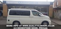 USED 2007 56 NISSAN ELGRAND 2.5 V Auto Brand New Conversion 4 Berth POP TOP PLEASE CALL FOR A VIEWING APPOINTMENT!