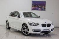 2013 BMW 1 SERIES 1.6 116I SPORT 5d 135 BHP £8991.00
