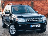 USED 2010 60 LAND ROVER FREELANDER 2.2 SD4 HSE AUTOMATIC NAVIGATION & PANORAMIC ROOF