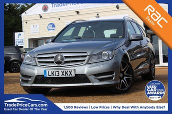 2013 MERCEDES-BENZ C CLASS 2.1 C220 CDI BLUEEFFICIENCY AMG SPORT PLUS 5d AUTO 168 BHP