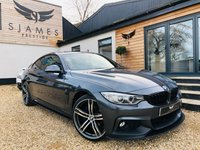 2016 BMW 4 SERIES 2.0 420D XDRIVE M SPORT 2d AUTO 188 BHP £18990.00