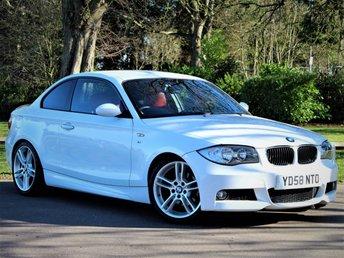 2008 BMW 1 SERIES 3.0 125I M SPORT 2d 215 BHP £7990.00