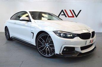 2018 BMW 4 SERIES 3.0 440I M SPORT 2d AUTO 322 BHP £SOLD
