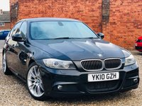 USED 2010 10 BMW 3 SERIES 3.0 325D M SPORT AUTO PROFESSIONAL MEDIA & LEATHER