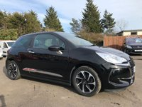 2016 DS DS 3 1.6 BLUEHDI ELEGANCE S/S 3d WITH 1 OWNER AND FULL CITROEN HISTORY £7000.00