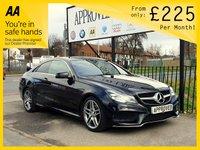 2014 MERCEDES-BENZ E CLASS 2.1 E220 CDI AMG SPORT 2d AUTO 170 BHP AUTOMATIC COUPE £12795.00