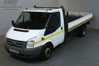 USED 2012 12 FORD TRANSIT 2.4 350 115 BHP EXTRA LWB TWIN WHEEL DROPSIDE LORRY REAR BED LENGTH 13 FOOT & 2 IN