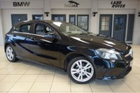 USED 2015 65 MERCEDES-BENZ A CLASS 1.5 A 180 D SPORT EXECUTIVE 5d 107 BHP full merc benz service history FINISHED IN STUNNING BLACK WITH GREY CLOTH SEATS + FULL MERCEDES BENZ SERVICE HISTORY + SATELITE NAVIGATION + REVERSE CAMERA + HEATED FRONT SEATS + PARKING SENSORS + RAIN SENSORS + AUTOMATIC CLIMATE CONTROL