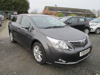 USED 2010 10 TOYOTA AVENSIS 1.8 TR VALVEMATIC 5d 145 BHP SERVICE HISTORY SATNAV ELECTRIC PACK