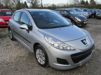 USED 2009 09 PEUGEOT 207 1.4 S 8V 5d 73 BHP POPULAR 1400 SMALL 5DR CAR