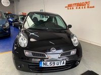 USED 2009 59 NISSAN MICRA 1.2 VISIA 3d 80 BHP VERY LOW MILEAGE**1 FORMER KEEPER**FULL SERVICE HISTORY